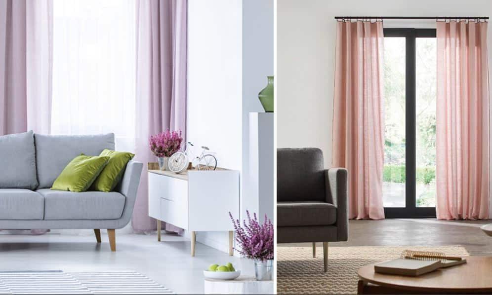 Quel couleur de rideaux avec un canapé gris ?