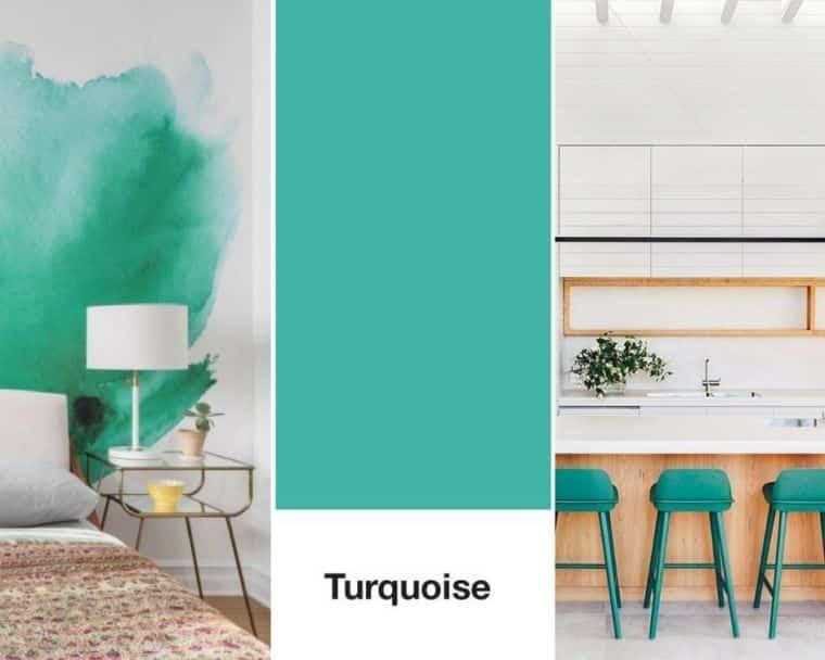 Quelle couleur se marie bien avec le turquoise ?